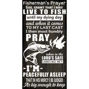FISHERMAN'S PRAYER