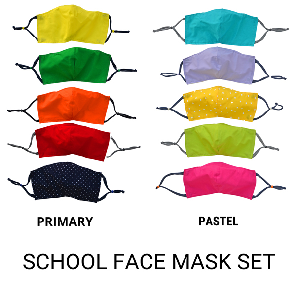 School Face Mask set product image