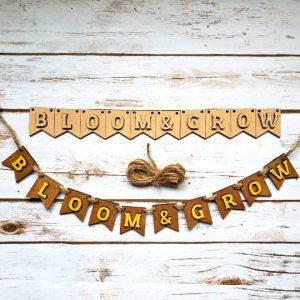 Bloom & Grow Banner DIY Décor Kit -